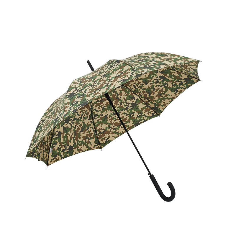 Mens Long Handled Umbrella With Pattern